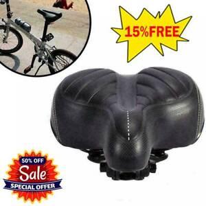 US-Comfort-Wide-Big-Bum-Bike-Bicycle-Gel-Cruiser-Extra-Pad-Soft-Seat-Saddle