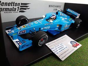 F1 Benetton Playlife Formule 1 à l'affiche 2000 Heures 1/18 Minichamps 180000082 El996