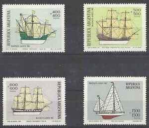 Timbres-Bateaux-Argentine-1185-8-lot-3995
