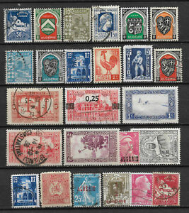 ALGERIA-STAMP-COLLECTION-PACKET-of-25-DIFFERENT-Used-Stamps-NICE-SELECTION