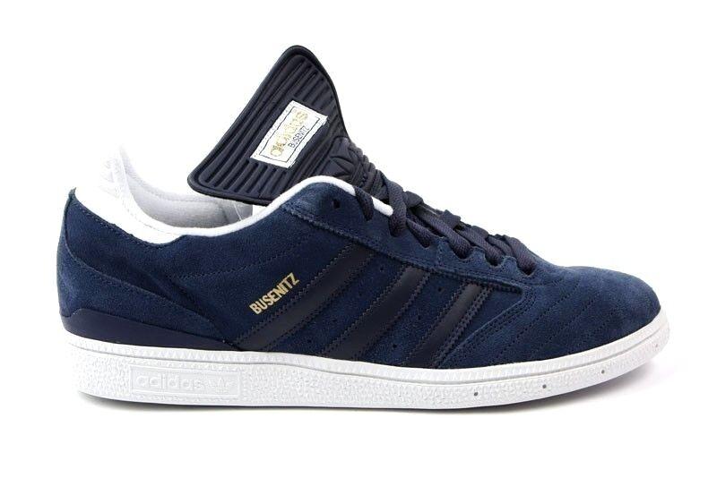 Adidas BUSENITZ  Dark Indigo White Skate Discounted Price reduction Men's Shoes Special limited time