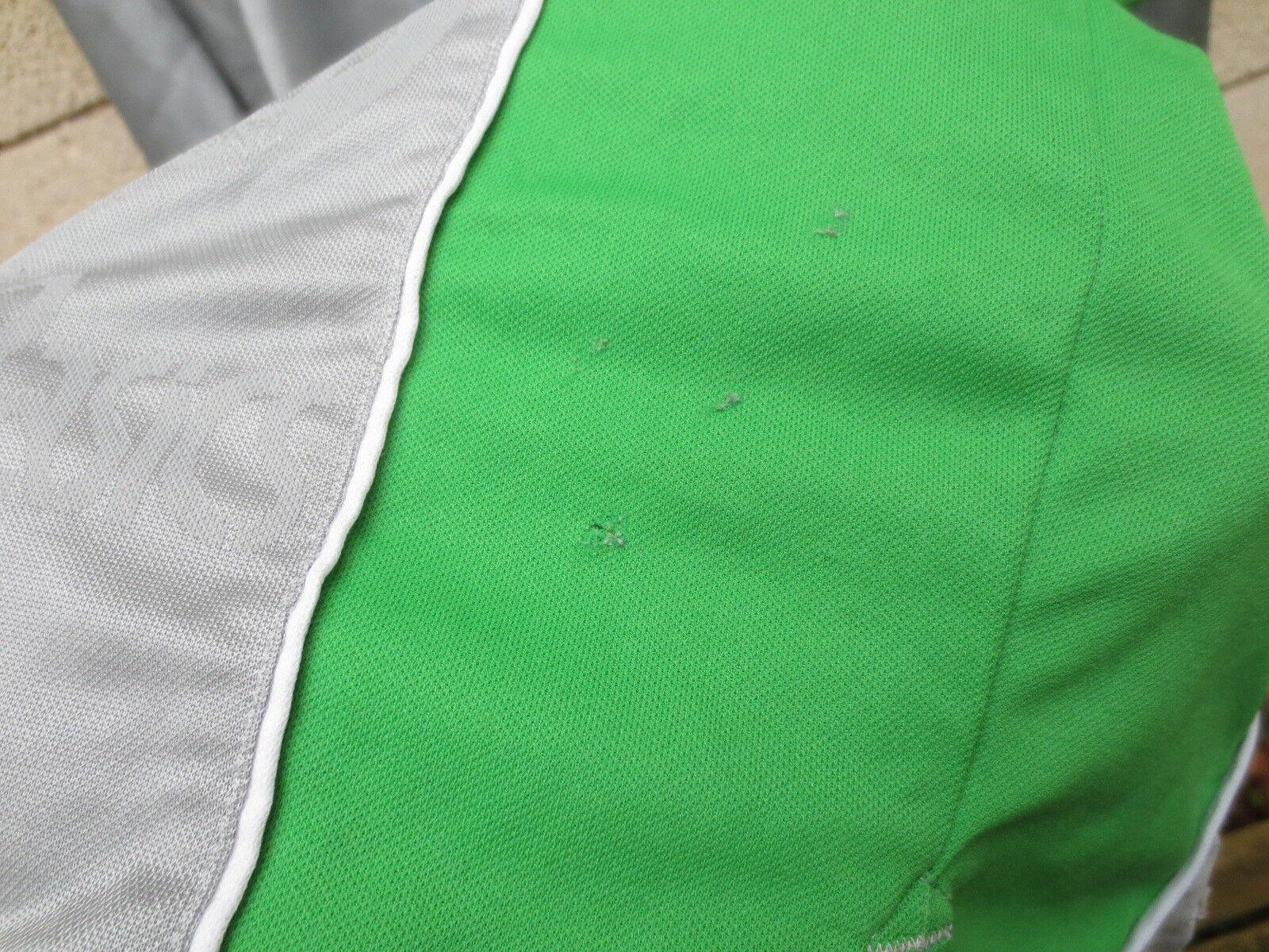 VINTAGE Maillot SAINT-ETIENNE 2000 ASICS shirt football shirt ASICS SABLE n°27 gris away XL 9927be