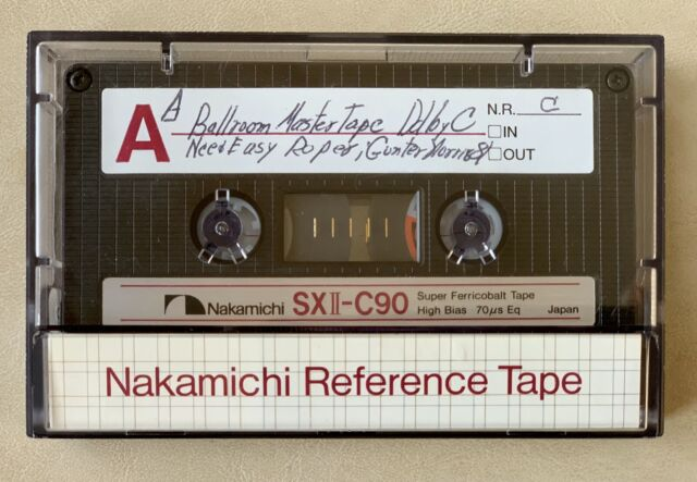 Lot of 3 Nakamichi Ferricobalt High Bias SX-C90 Cassette Tape Used Made in Japan