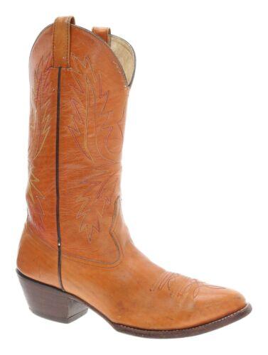 CUSTOM Cowboy Boots 9 D Mens Leather Vintage Weste