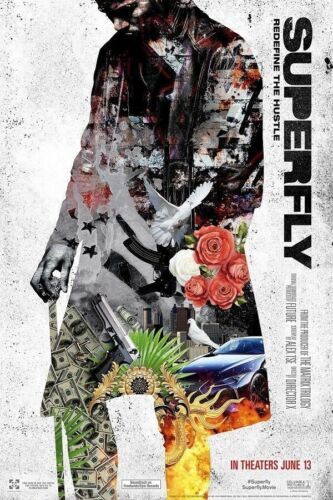 Art Poster SuperFly Director X 2018 Movie 14x21 24x36 Hot Y3037