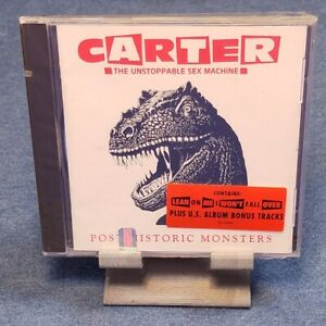 cd Carter The Unstoppable Sex Machine - Post Historic