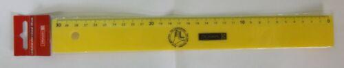 Linkshänder-Lineal 30 cm verschiedene Farben