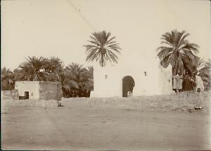 Algerie-Extreme-Sud-Un-Marabout-pres-de-M-039-Raier-Vintage-citrate-print-L