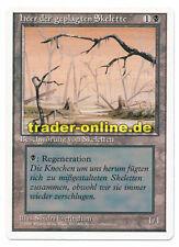 Misprint heer der geplagten Skelette swamp picture Magic Revised german original