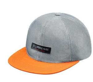 eeb41080690 Image is loading Supreme-Metallic-Mesh-Competition-6-Panel-Orange