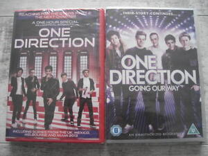 2-x-one-direction-dvds-MUSIC-DANCE-DVD-going-our-way-amp-stars-part-2-new