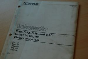 details about cat caterpillar c10 c12 c15 c16 engine electronic diagram schematic manual 2004 intake manifold diagram c12 engine diagram #9