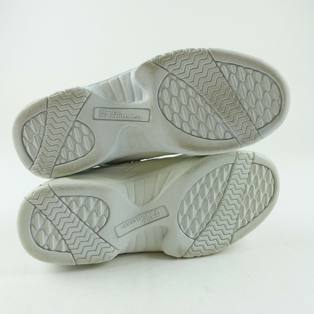 reputable site ab934 4b8bf ... chaussures de marche les baskets taille 7 7 7 athlétique formation  dentelle blanche 873bea ...