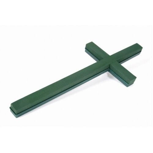 2FT PLASTIC BACKED OASIS FLORAL FOAM CROSS 60CM FLORAL FUNERAL SKU 2160