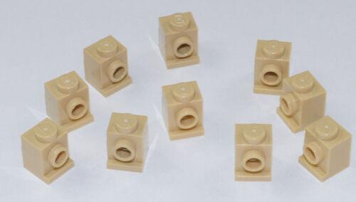 10 x Convertisseur-Pierre 1x1 beige//tan brick lumineuse//4070 article neuf Lego