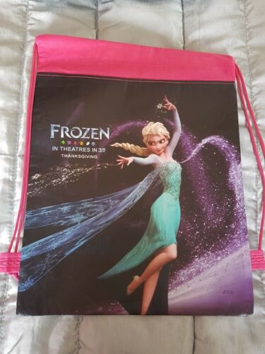 Frozen draw string bag