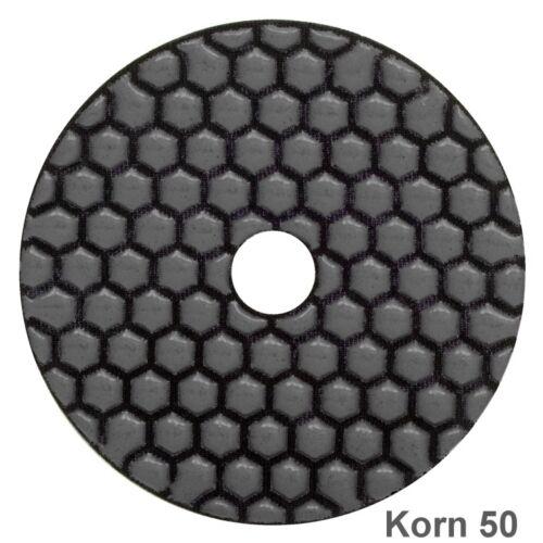 Diamant TROCKEN Polierscheiben Schleifpad Polierpads Schleifscheiben Ø100mm M14