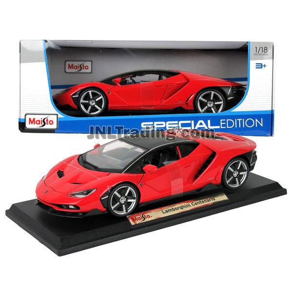 NEW Maisto Special Edition Die Cast Car Red Sport Coupe LAMBORGHINI CENTENARIO