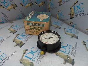 ACCO HELICOID 1515A 0-2000 PSI 0-4000 kPa SIZE 4½ GAUGE NIB
