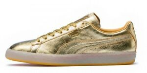 07ce6fa485f Puma Men s SUEDE CLASSIC 50th GOLD Shoes Gold 366341-01 c