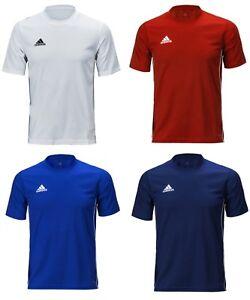 La foto se está cargando Adidas-Hombres-ClimaLite-Correr-Entrenamiento -Core-18-Rojo- 9fd01ff22a340
