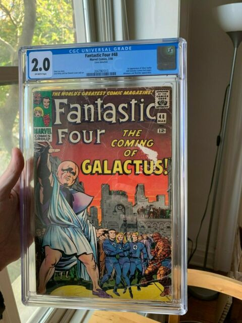 Fantastic Four 48. CGC 2.0. Just back from CGC!