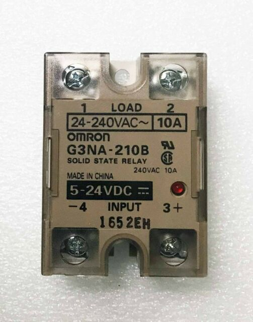 1 pcs - Omron G3NA-210B - Solid State Relay, SPST-NO, 10 A, 264 VAC