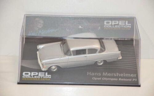 ohne Hefte Opel Collection 1:43 Designer Serie Auto Modell aussuchen 121-140