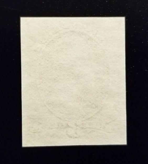 1870 3c Washington, Trial Color Violet Brown, Rare Indi