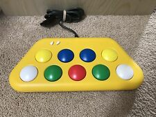 PS1 PS2 Pop'n Music Controller Minicon 2 Rare Yellow Japan Import US SELLER