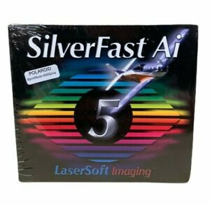 SilverFast-AI-5-Sprint-Scan-4000-Plus-Polaroid-LaserSoft-Imaging-Software-SEALED