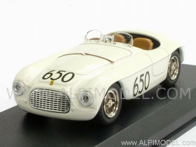 Ferrari 166 MM Spider MilleMiglia 1950 Marzotto-Cristaldi 1 43 ART 017