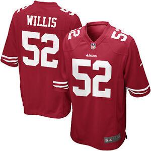 fa13f40be San Francisco 49ers Nike NFL  52 Patrick Willis Red Men s Game Home ...
