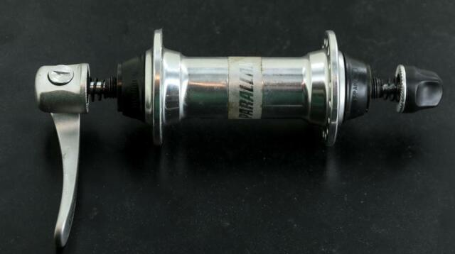 SHIMANO NOS XT HB-M737 Front Wheel Bike Hub 32h Hole Silver QR New Old Stock
