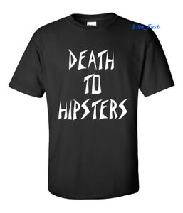 DEATH-TO-HIPSTERS-T-SHIRT-outlaw-biker-old-school-choppers-mc-motorcycle-club