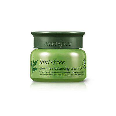 [INNISFREE] New Green Tea Balancing Cream Ex 50ml