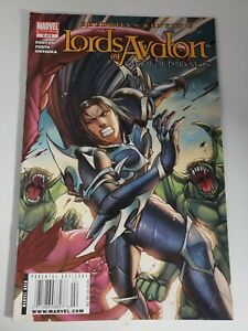 Lords-Of-Avalon-Knight-of-No-2-Feb-2009-Marvel-Comics-Newsstand-Variant-K2b108