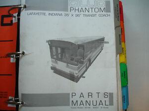 image is loading 1994-gillig-phantom-transit-bus-coach-parts-manual-