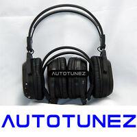 2x Wireless Ir Cordless Dual Channel Stereo Headphones Infrared Autotunez
