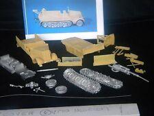 MGM 080-072 1/72 Resin WWII German Sd. Kfz.9 Famo Halftrack with Bilstein Crane
