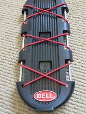 Bell Caddy Rear Cargo Bike Rack Integrated Bungee Cord Missing Clamp Good Cond