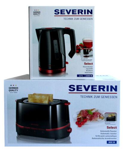 WK 3392 Bollitore Severin Select una colazione-Set at 2292 Automatik-Tostapane