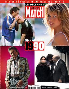 Paris Match hors-série  Les décennies (en version PDF) - Nos années 90