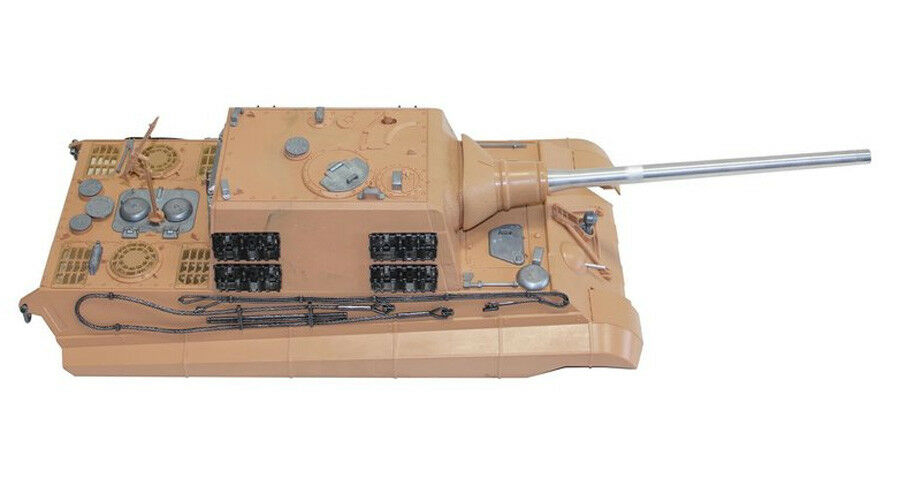 Torro 1 16 RC Jagdtiger Metal Upper Hull BB Version UK