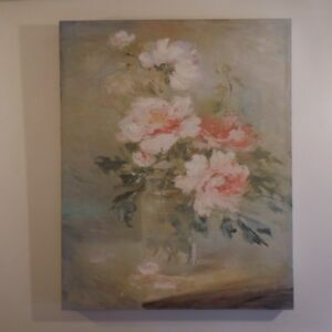 N2105 Reproduction peinture huile Bouquet
