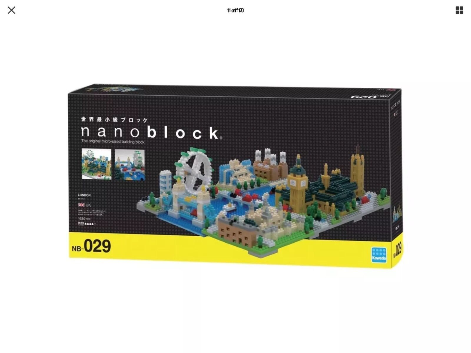 KAWADA Nanoblock NB-029  London
