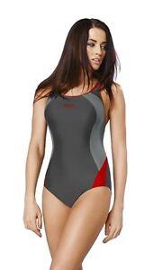 New-Girls-Women-One-Piece-Swimming-Costume-Swimwear-Swimsuit-Uk-Size-8-22