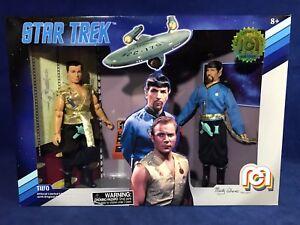 Nouveau Capitaine Kirk & Mr Spock - Deux Mego 2018 Figures Mirror Univers Star Trek 852404008324