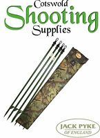 Jack Pyke Super Hide Pole ( Woodland ) Hide Net Poles - Hunting Shooting