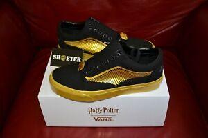 Vans-x-Harry-Potter-Old-Skool-HP-Golden-Snitch-Men-039-s-Women-039-s-SZ-4-13